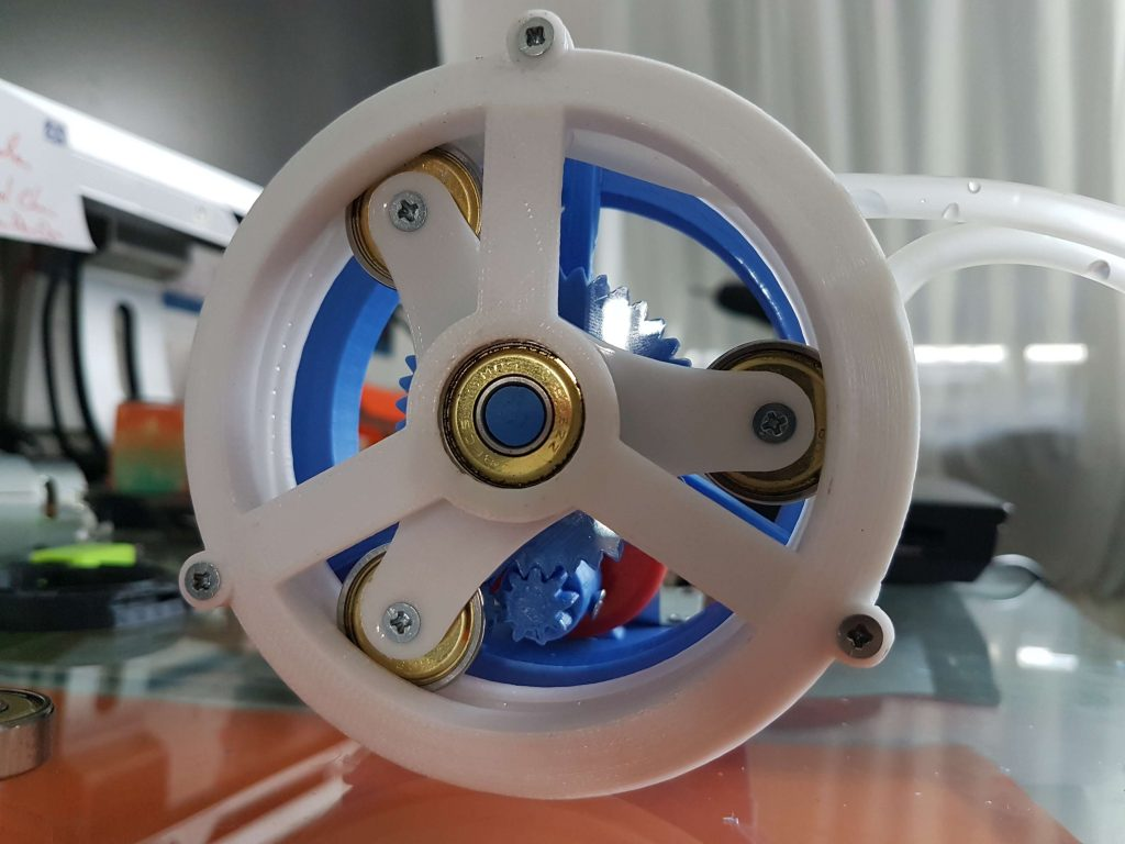3d printed peristaltic pump